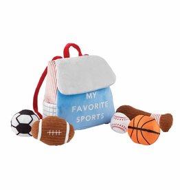 Mud Pie My Favorite Sports Plush Set