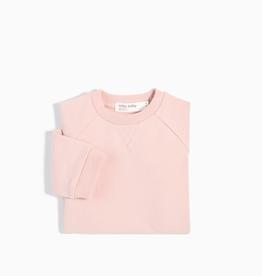 Miles Baby Light Pink Crew Neck Sweater & Jogger Set - Baby