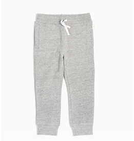 Miles Baby Basic Heather Grey Jogger - Toddler