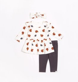 """Miles Baby """"Central Park"""" Dress Set with Organic Cotton"""
