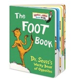 Penguin Random House (here) The Foot Book, Dr. Seuss (BB)