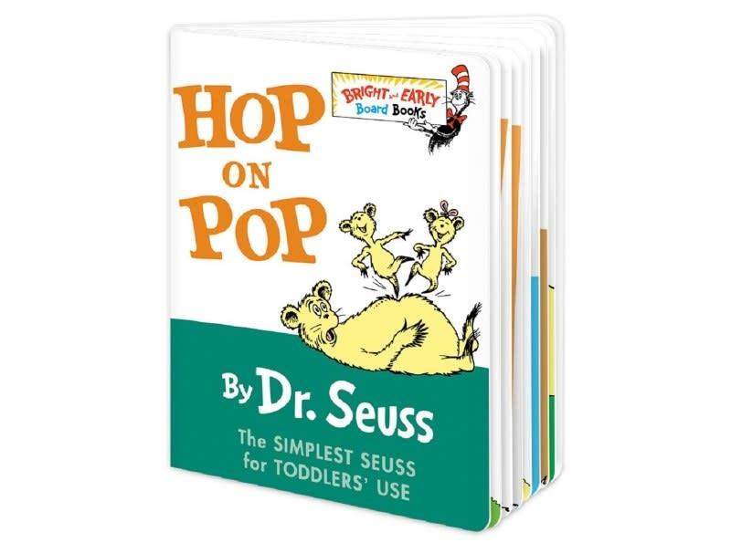 Penguin Random House (here) Hop on Pop, Dr. Seuss (BB)
