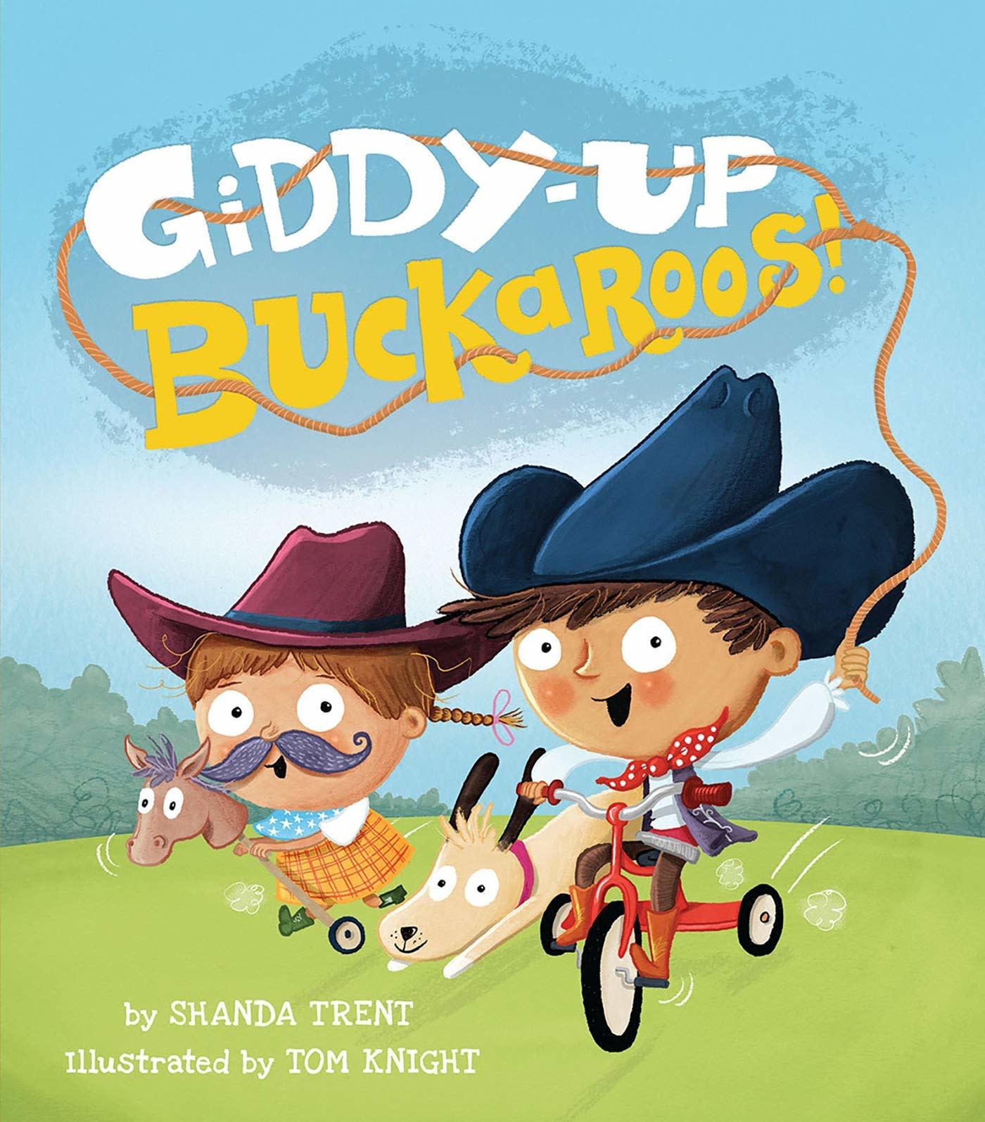 Penguin Random House (here) Giddy-Up Buckaroos