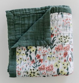 Saranoni By Hope Roadside Picks Bamboo Rayon Muslin 4-Layer Quilt