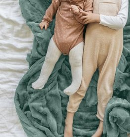 """Saranoni Throw Blanket Eucalyptus Lush (50""""x60"""")"""