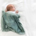 Saranoni Mini Blanket (15'' x 20'') Eucalyptus Lush