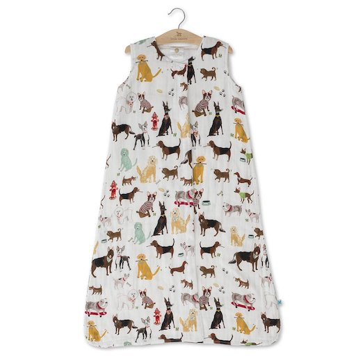 Little Unicorn Cotton Muslin Sleep Bag Medium - Woof
