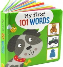 Peter Pauper Press Board Book:  My First 101 Words!