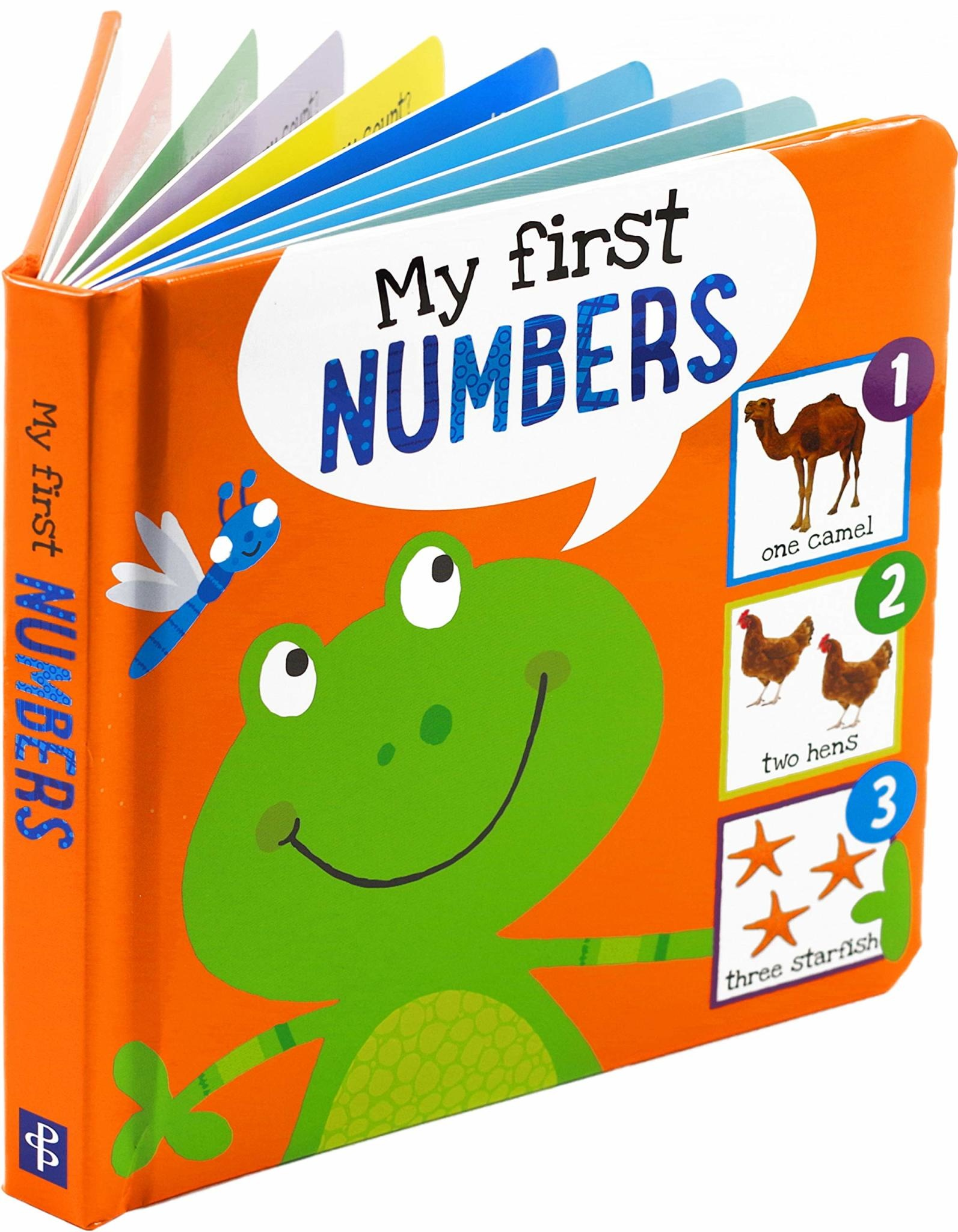 Peter Pauper Press Board Book: I'm Learning My Numbers!
