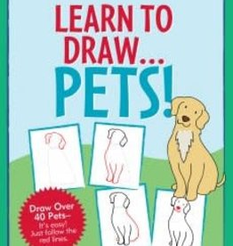 Peter Pauper Press Learn to Draw... Pets!