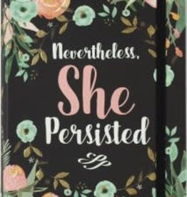 Peter Pauper Press Sm Journal: Nevertheless, She Persisted