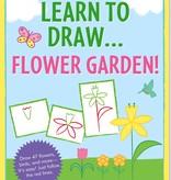 Peter Pauper Press Learn To Draw... Flower Garden!