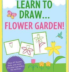 Peter Pauper Press Learn To Draw... Flower Garden!