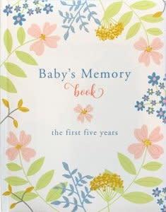 Peter Pauper Press Classic Baby's Memory Book
