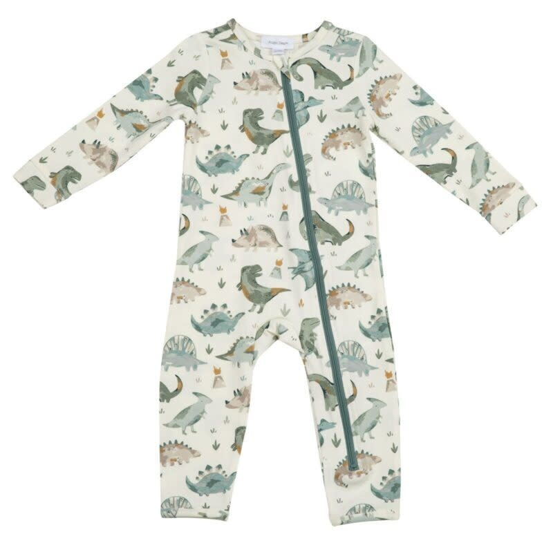 Angel Dear Crayon Dinosaur, Zipper Romper