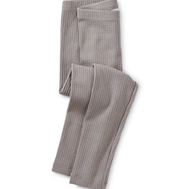 Tea Collection Pointelle Leggings - Steeple Gray