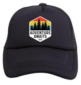 Tiny Trucker Co. Adventure Awaits Trucker Hat - Toddler