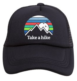 Tiny Trucker Co. Take A Hike Trucker Hat - Toddler