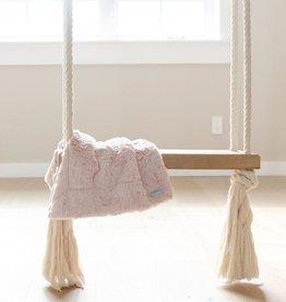 Saranoni Mini Blanket (15'' x 20'') Blush Dream