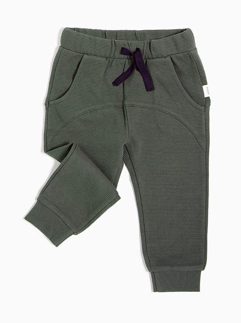 Miles Baby Knit Pant - Khaki