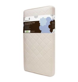 Naturepedic Quilted Series: Ultra Breathable 2-Stage Organic Crib Mattress with Ultra Breathable Cover