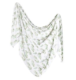 Copper Pearl Knit Blanket - Fern