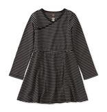 Tea Collection Full Skirt Wrap Neck Dress