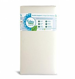 Lullaby Earth Lullaby Earth: Healthy Support 2-Stage Crib Mattress - Natural