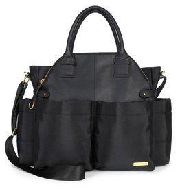 Skip Hop Chelsea downtown chic satchel - Black