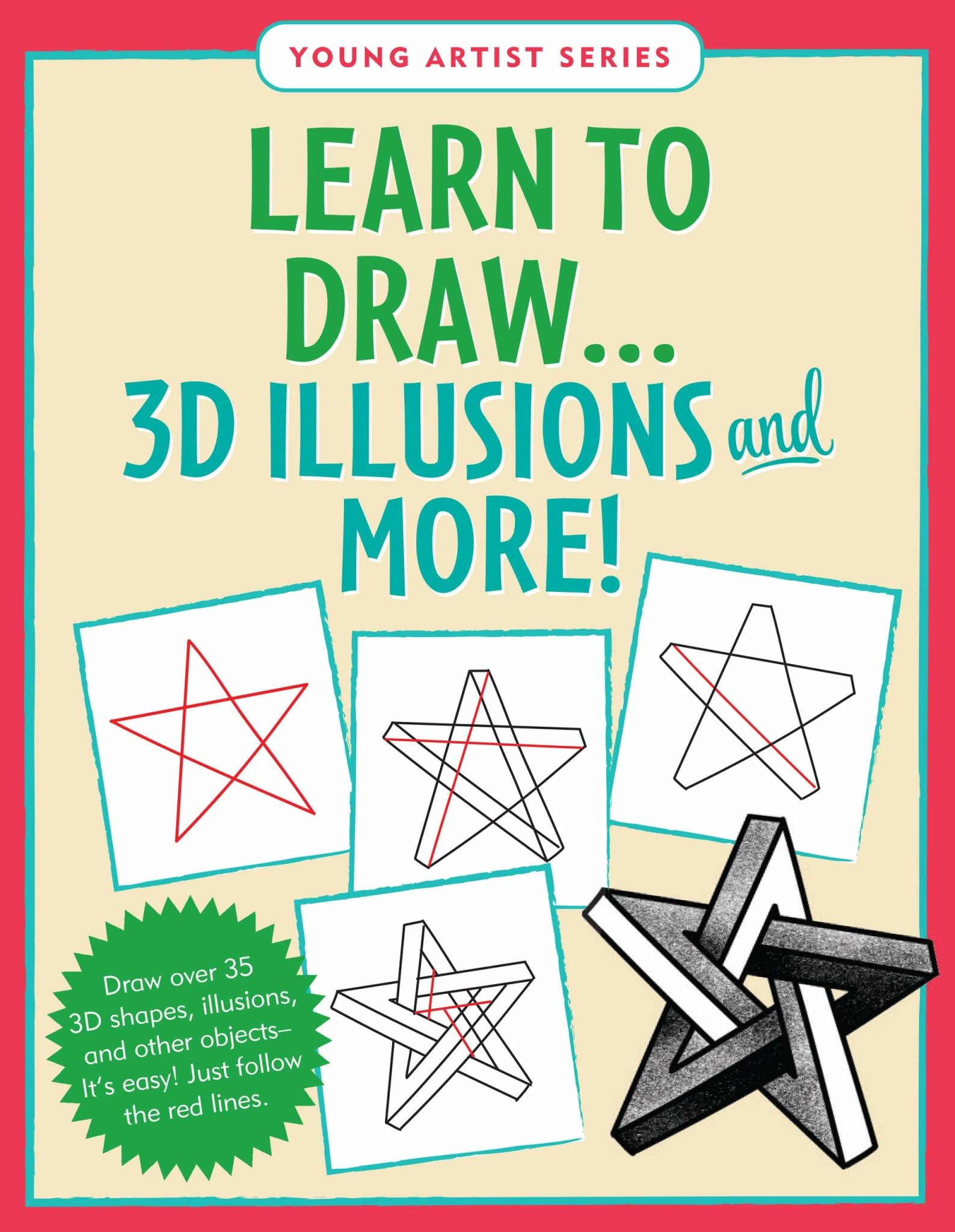 Peter Pauper Press Learn To Draw... 3D Illusions