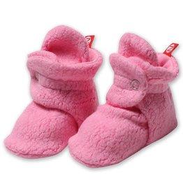 Zutano Cozie Fleece Bootie - Hot Pink 6M