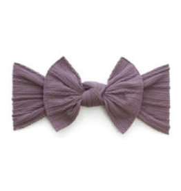 Baby Bling Bows Cable Knit Knot - Lilac