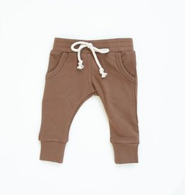 Mebie Baby Camel French Terry Jogger Pants 4T