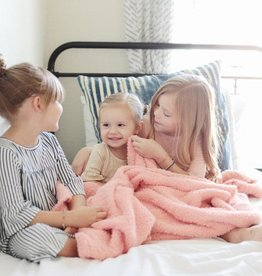 Saranoni Toddler to Teen Blanket Peach Bamboni (40x60)
