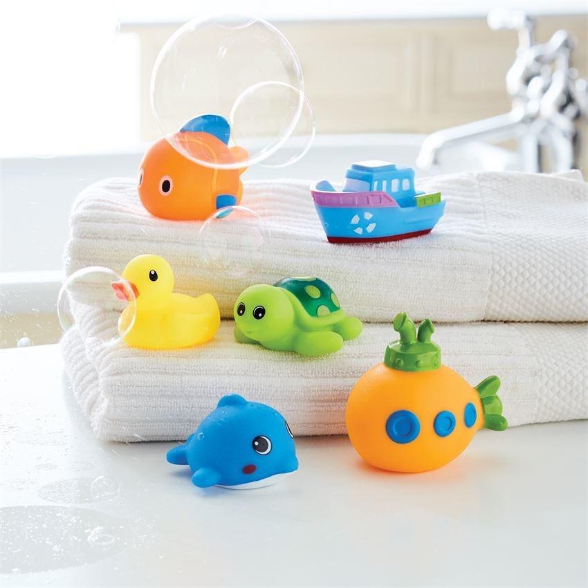 Mud Pie Ocean Friends Bath Toy Set