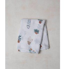 Little Unicorn Cotton Muslin Swaddle - Single - Prickle Pots