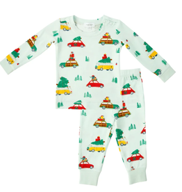 Angel Dear Lounge Wear Set, Trees on Cars