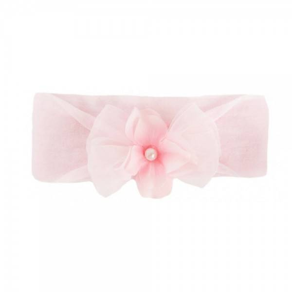 Baby Bling Bows Classic Pearl Small - Pink