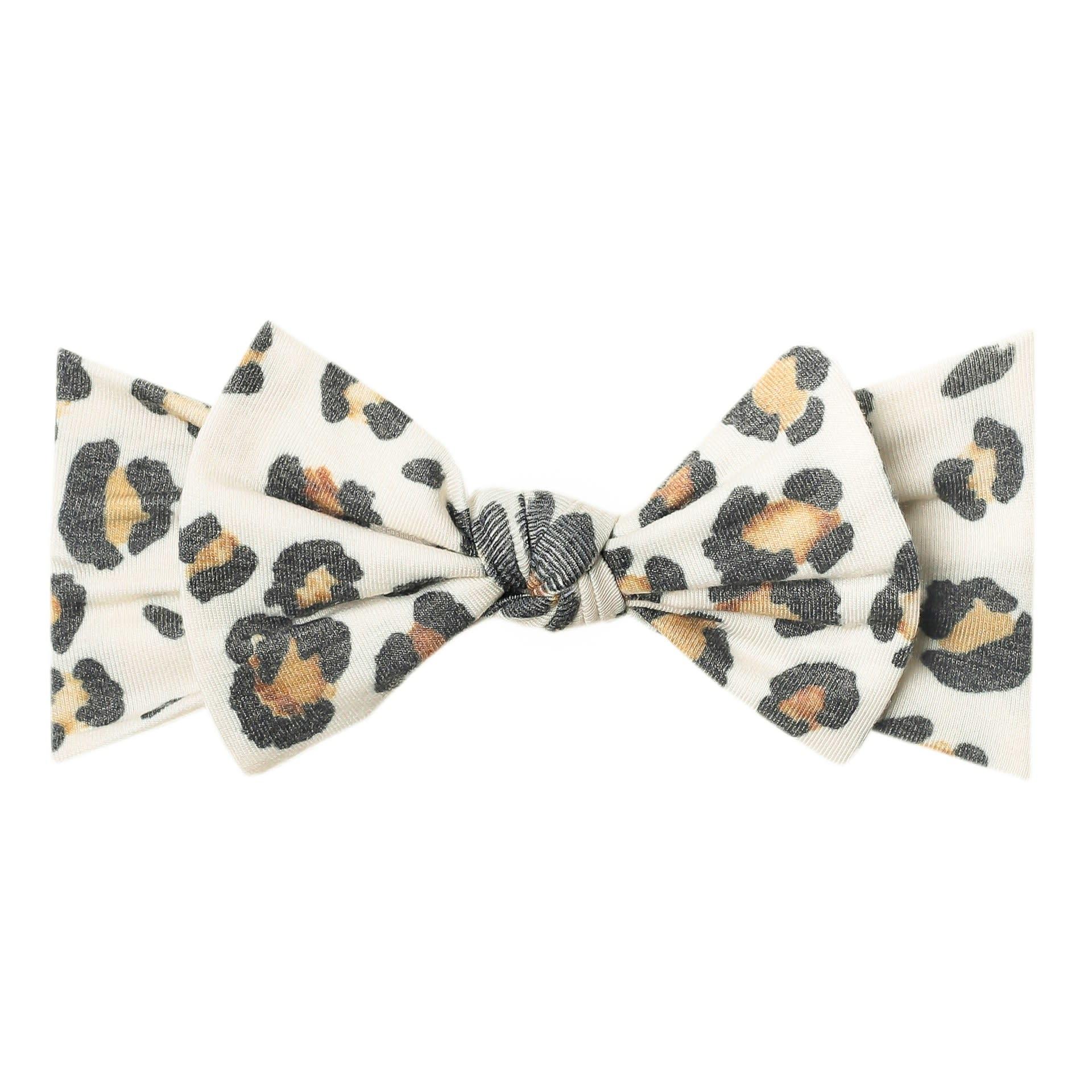 Copper Pearl Knit Headband - Zara