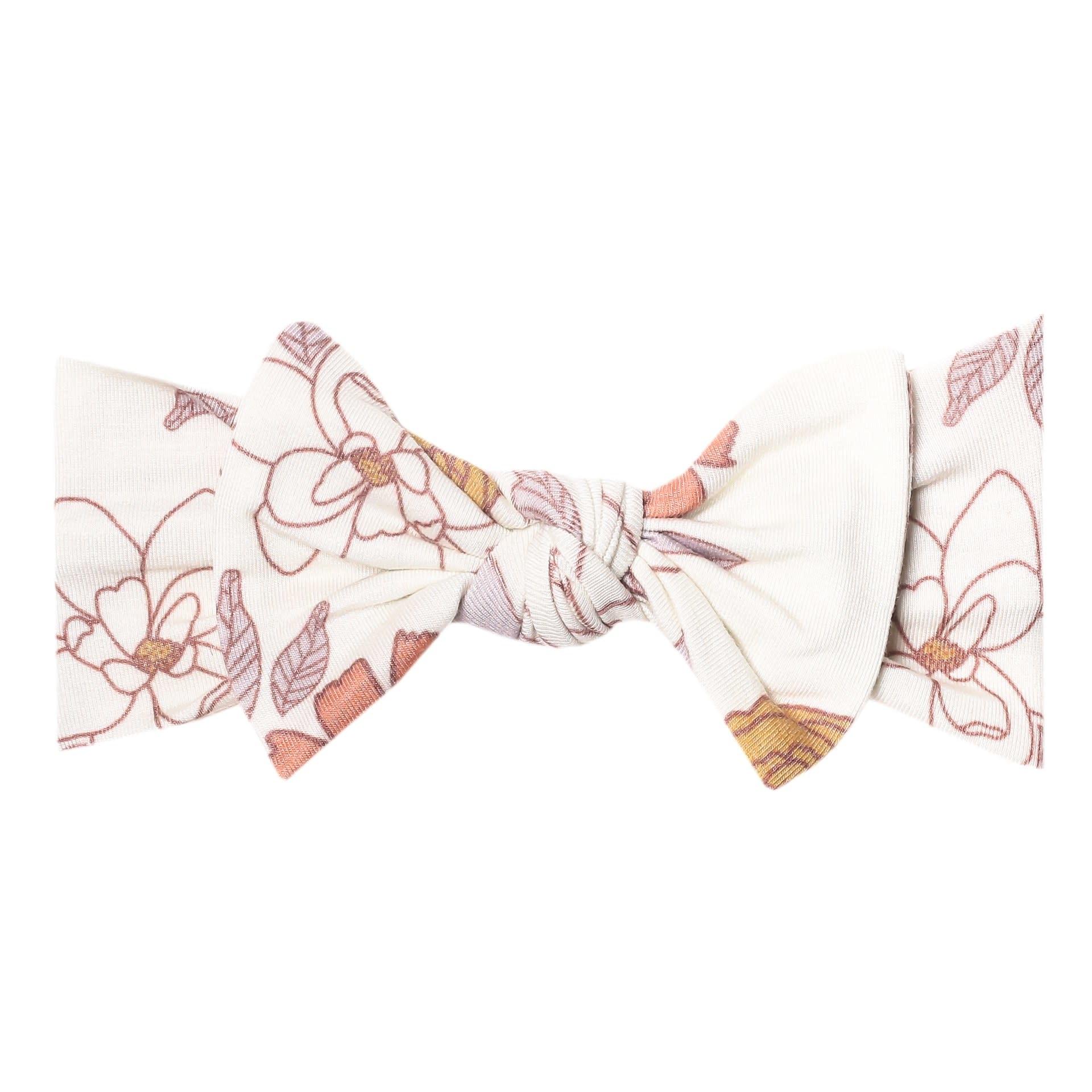 Copper Pearl Knit Headband - Ferra