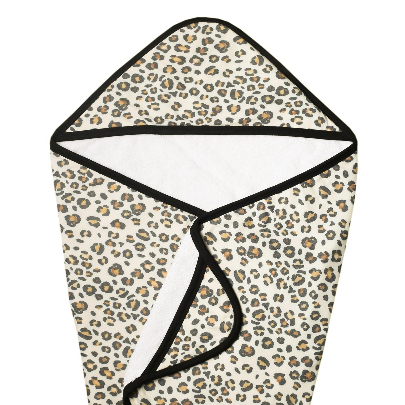 Copper Pearl Knit Hooded Towel - Zara