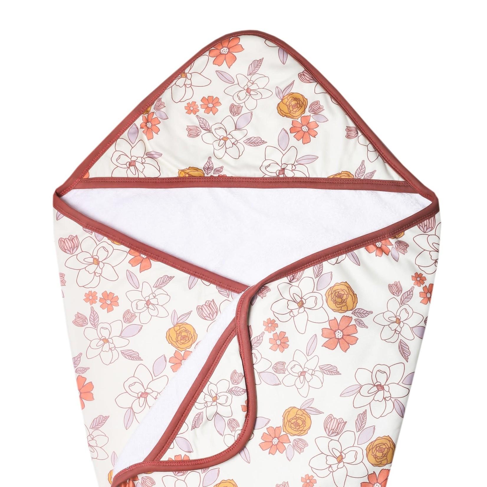 Copper Pearl Knit Hooded Towel - Ferra