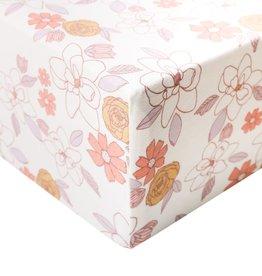 Copper Pearl Premium Crib Sheet Ferra