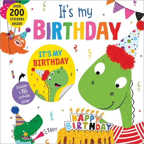 Sourcebooks It's My Birthday! (Dinosaur)