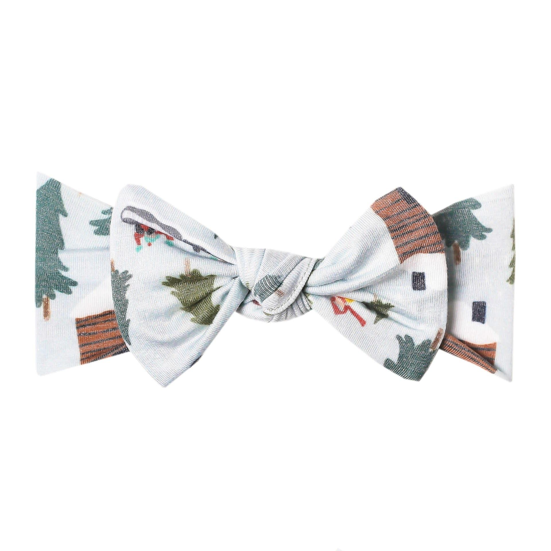 Copper Pearl Knit Headband - Kringle