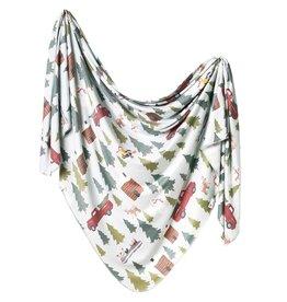 Copper Pearl Knit Blanket - Kringle
