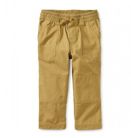 Tea Collection Baby Boy Canvas Explorer Pants - Fennel 3-6M