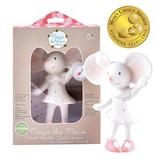 Tikiri Toys Meiya the Mouse - Rubber Squeaker Toy