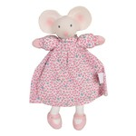 Tikiri Toys Meiya the Mouse - Lovey with Rubber Head