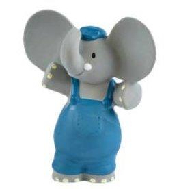 Tikiri Toys Alvin the Elephant Rubber Toy